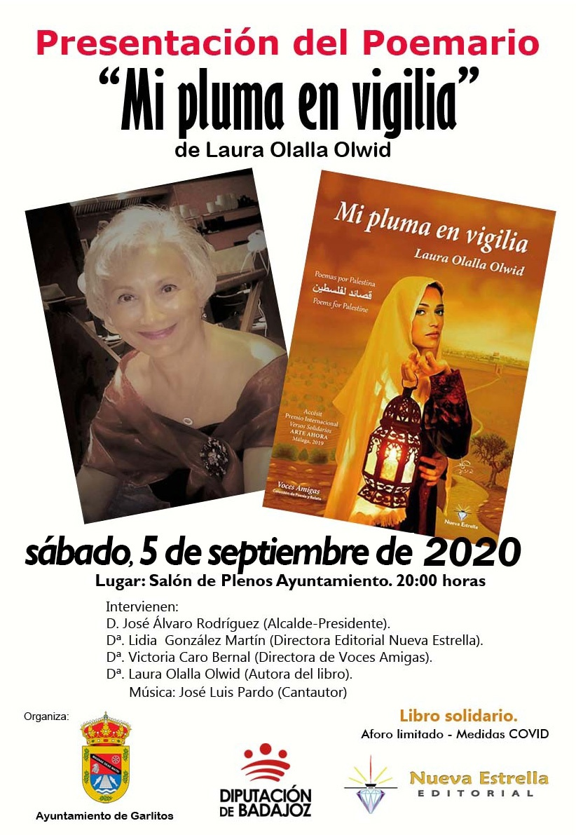 Laura Olalla presenta en Garlitos Badajoz
