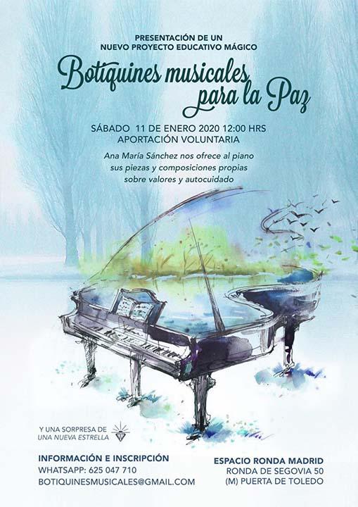 Botiquines musicales para la Paz