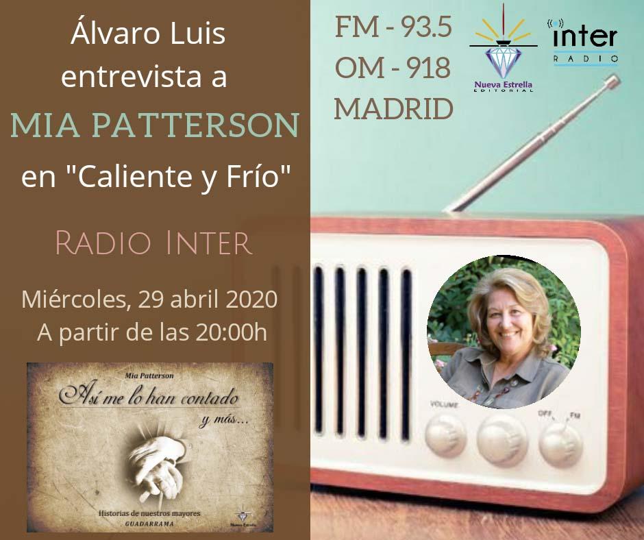 Mia Patterson en Radio Inter