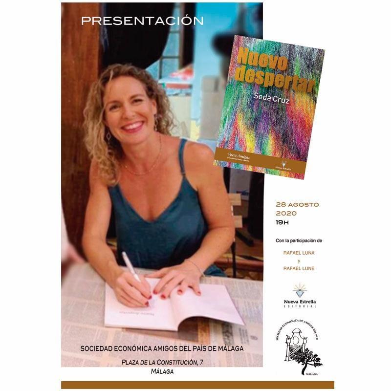 Seda Cruz presenta en Málaga Nuevo Despertar